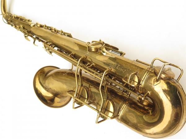 Saxophone ténor Conn transitionnel 10M verni gravé ladyface (20)