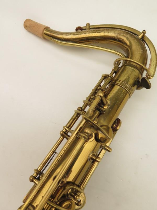 Saxophone ténor Conn transitionnel 10M verni gravé ladyface (3)