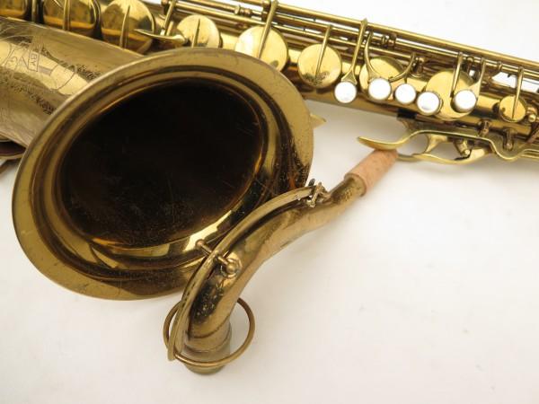 Saxophone ténor Conn transitionnel 10M verni gravé ladyface (4)