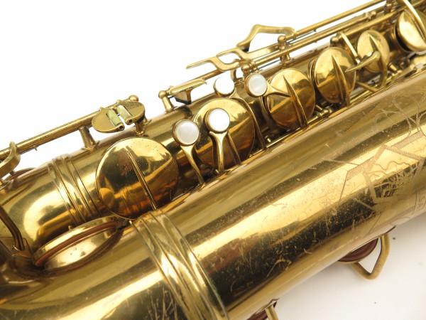 Saxophone ténor Conn transitionnel 10M verni gravé ladyface (6)