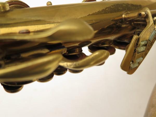 Saxophone ténor Conn transitionnel 10M verni gravé ladyface (8)