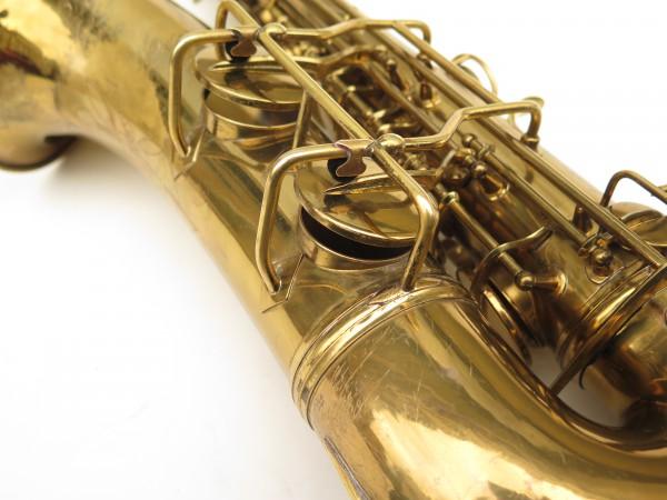 Saxophone ténor Conn transitionnel 10M verni gravé ladyface (9)