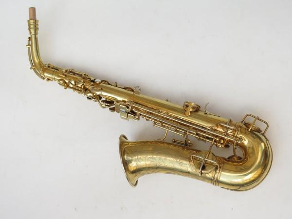 Saxophone alto Conn Chu Berry plaqué or ladyface (15)