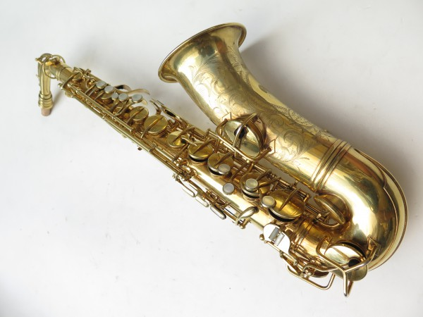 Saxophone alto Conn Chu Berry plaqué or ladyface (16)