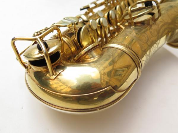 Saxophone alto Conn Chu Berry plaqué or ladyface (18)
