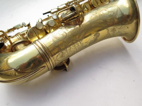 Saxophone alto Conn Chu Berry plaqué or ladyface (2)