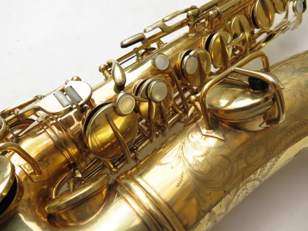 Saxophone alto Conn Chu Berry plaqué or ladyface (20)