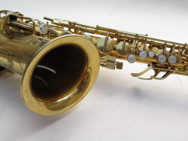 Saxophone alto Conn Chu Berry plaqué or ladyface (3)
