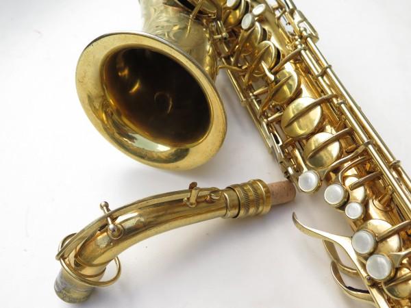 Saxophone alto Conn Chu Berry plaqué or ladyface (4)
