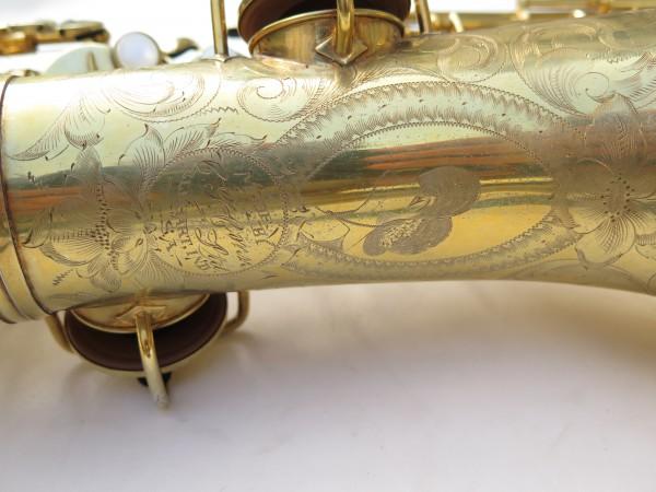 Saxophone alto Conn Chu Berry plaqué or ladyface (5)