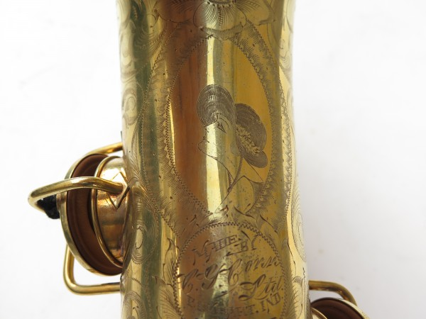 Saxophone alto Conn Chu Berry plaqué or ladyface (6)