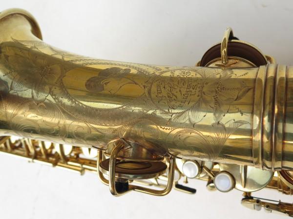 Saxophone alto Conn Chu Berry plaqué or ladyface (7)