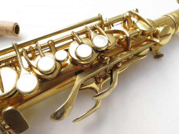 Saxophone alto Conn Chu Berry plaqué or ladyface (8)