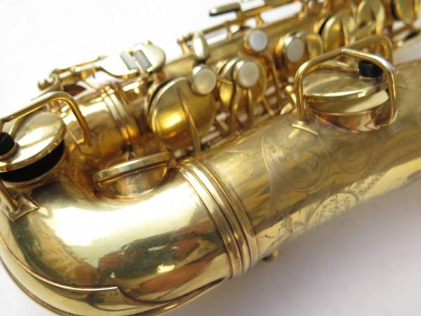 Saxophone alto Conn Chu Berry plaqué or ladyface (9)