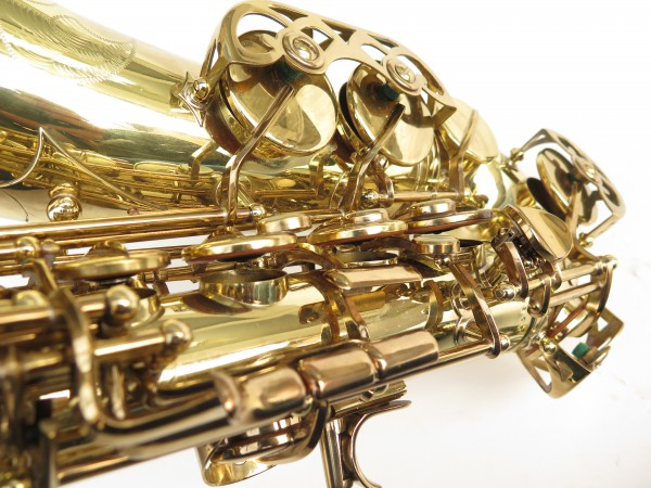 Saxophone alto Buffet Crampon S1 verni gravé (11)