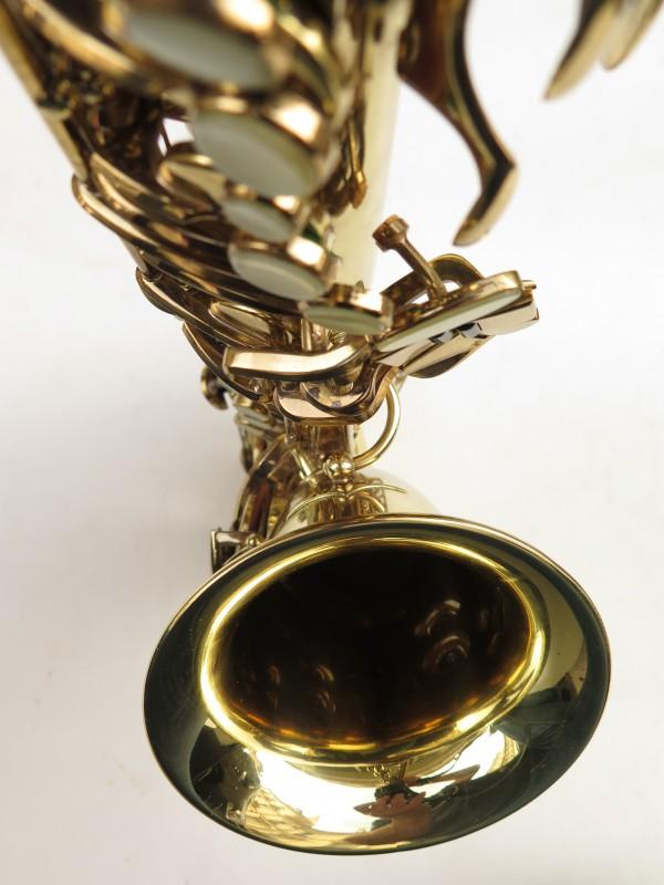 Saxophone alto Buffet Crampon S1 verni gravé (13)