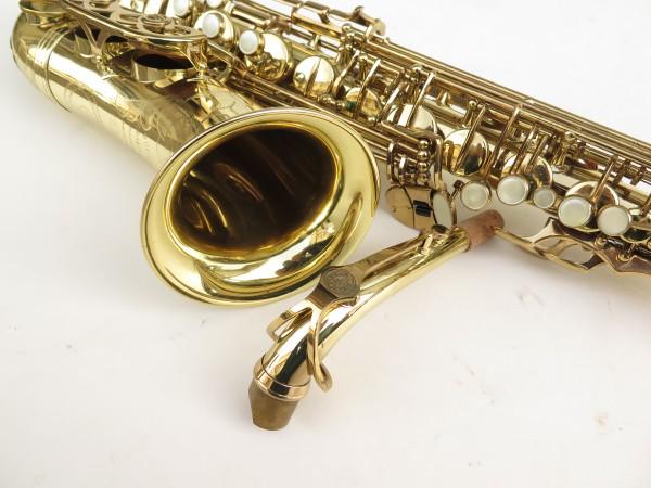 Saxophone alto Buffet Crampon S1 verni gravé (14)