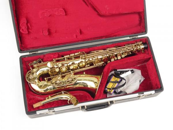 Saxophone alto Buffet Crampon S1 verni gravé (3)