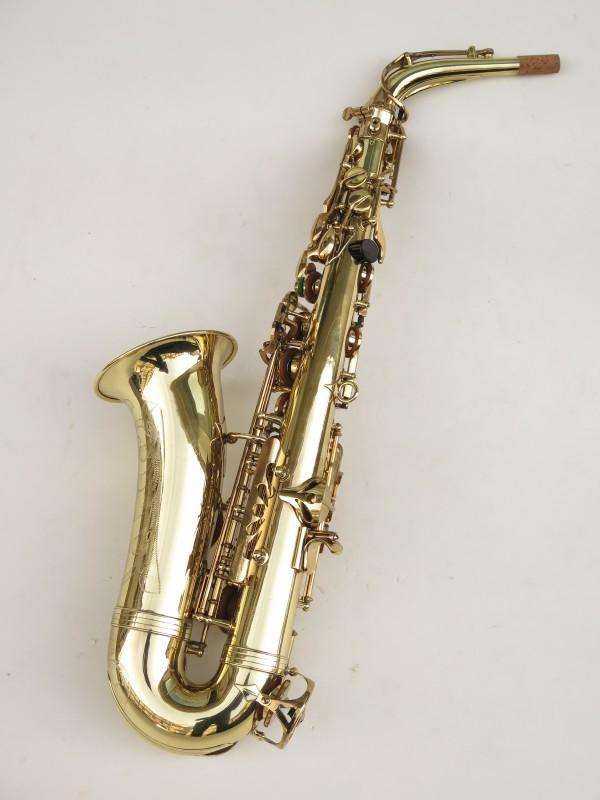 Saxophone alto Buffet Crampon S1 verni gravé (5)