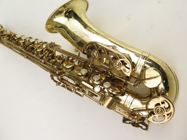 Saxophone alto Buffet Crampon S1 verni gravé (6)