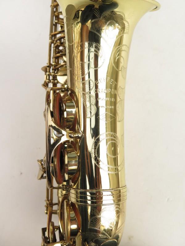 Saxophone alto Buffet Crampon S1 verni gravé (7)