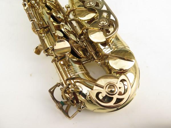 Saxophone alto Buffet Crampon S1 verni gravé (8)