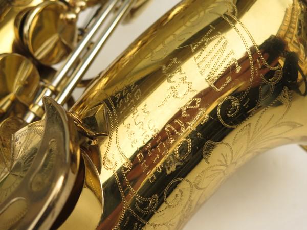 Saxophone alto King Super 20 verni gravé (12)