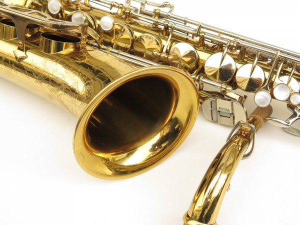 Saxophone alto King Super 20 verni gravé (2)