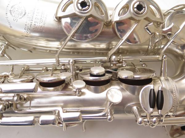 Saxophone alto Selmer Balanced Action argenté sablé clétage additionnel américain (10)
