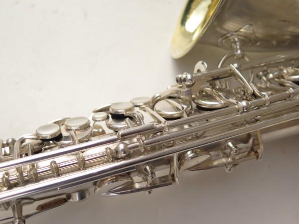 Saxophone alto Selmer Balanced Action argenté sablé clétage additionnel américain (11)