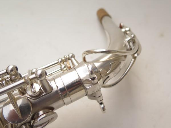 Saxophone alto Selmer Balanced Action argenté sablé clétage additionnel américain (12)