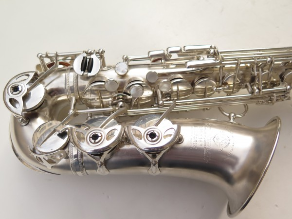 Saxophone alto Selmer Balanced Action argenté sablé clétage additionnel américain (14)