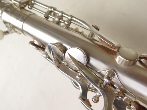 Saxophone alto Selmer Balanced Action argenté sablé clétage additionnel américain (15)