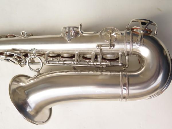 Saxophone alto Selmer Balanced Action argenté sablé clétage additionnel américain (16)