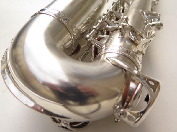 Saxophone alto Selmer Balanced Action argenté sablé clétage additionnel américain (17)