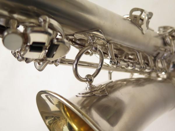 Saxophone alto Selmer Balanced Action argenté sablé clétage additionnel américain (18)