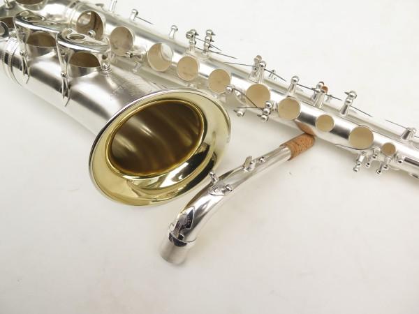 Saxophone alto Selmer Balanced Action argenté sablé clétage additionnel américain (2)