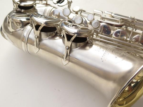 Saxophone alto Selmer Balanced Action argenté sablé clétage additionnel américain (20)