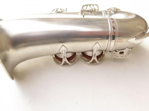 Saxophone alto Selmer Balanced Action argenté sablé clétage additionnel américain (21)