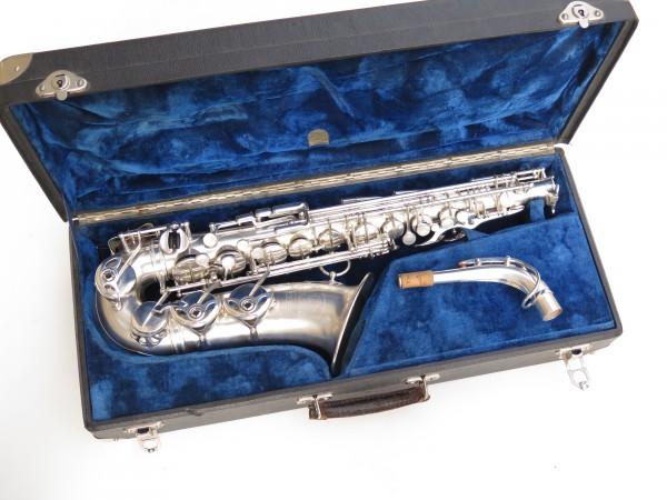 Saxophone alto Selmer Balanced Action argenté sablé clétage additionnel américain (3)