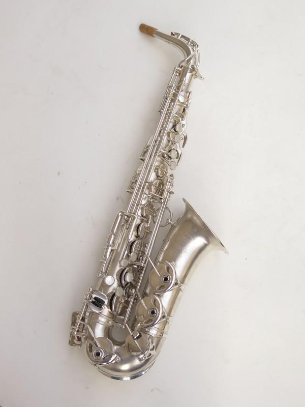 Saxophone alto Selmer Balanced Action argenté sablé clétage additionnel américain (5)