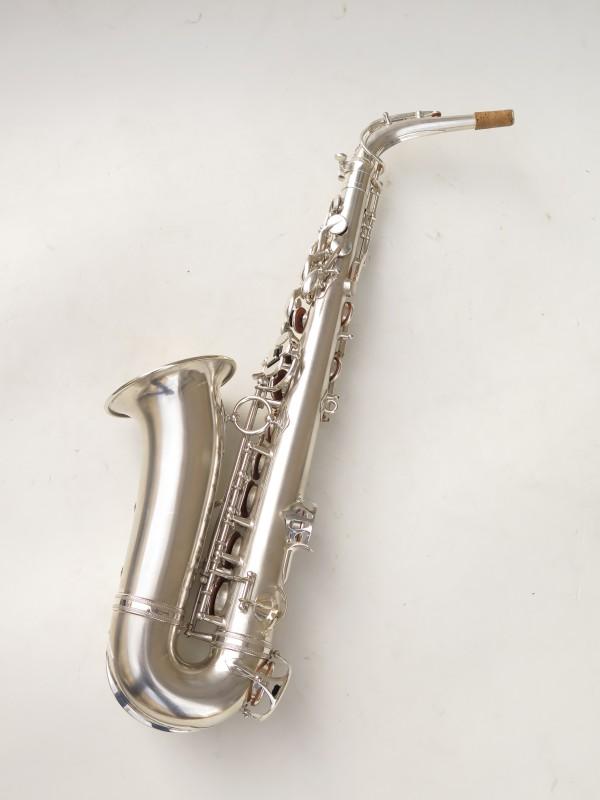 Saxophone alto Selmer Balanced Action argenté sablé clétage additionnel américain (6)