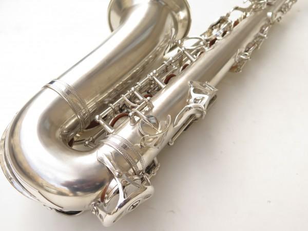 Saxophone alto Selmer Balanced Action argenté sablé clétage additionnel américain (7)