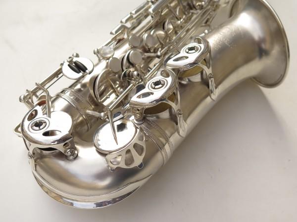 Saxophone alto Selmer Balanced Action argenté sablé clétage additionnel américain (9)