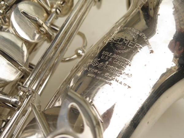 Saxophone alto Selmer Super Balanced Action argenté (5)